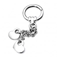 Hearts silver Keychains