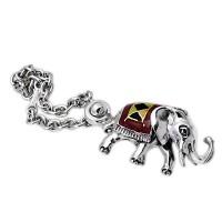 Ασημένια κλειδοθήκη Ελέφαντας