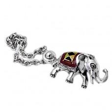 Elephant silver Keychains