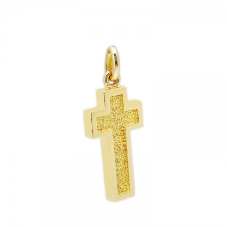 One solid men Cross made of 14K Gold
