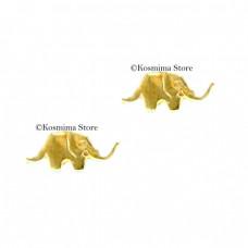 14 Carats gold, kids earrings