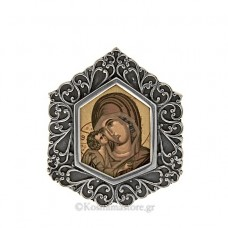 Icon of Silver 925 ° and Iconography