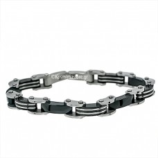 Modern Steel Bracelet with black plating