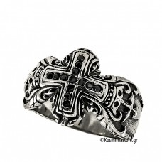 Fashionable men Ring of Steel