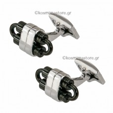 A very modern Couple by Steel Cufflinks