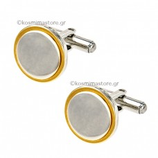 A Classic Couple  Steel Cufflinks