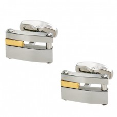 An impressive Couple by Steel Cufflinks