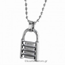 Stainless Steel pendant Shaped Padlock
