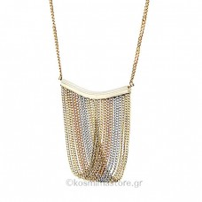 14K Tricolor Gold necklace